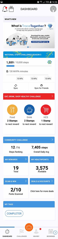 healthy 365 app