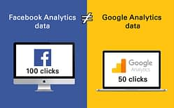 facebook and google analytics data do not match - featured