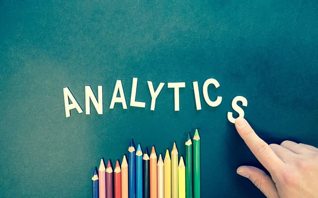 Google Analytics report - featured