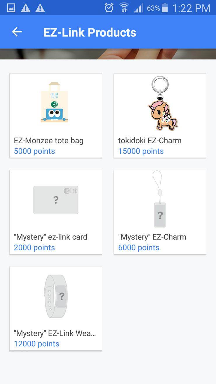 EZ-Link app products