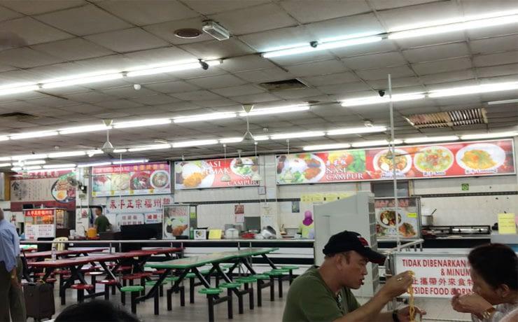 Genting Malaysia Yong Peng food stall