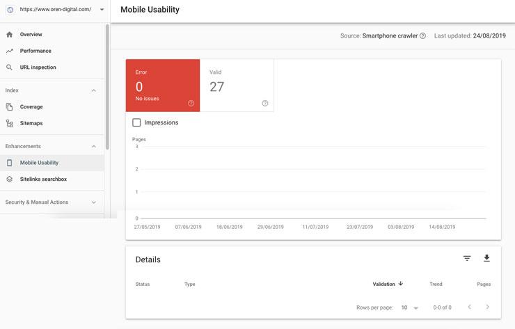 Google Search Console setting 12